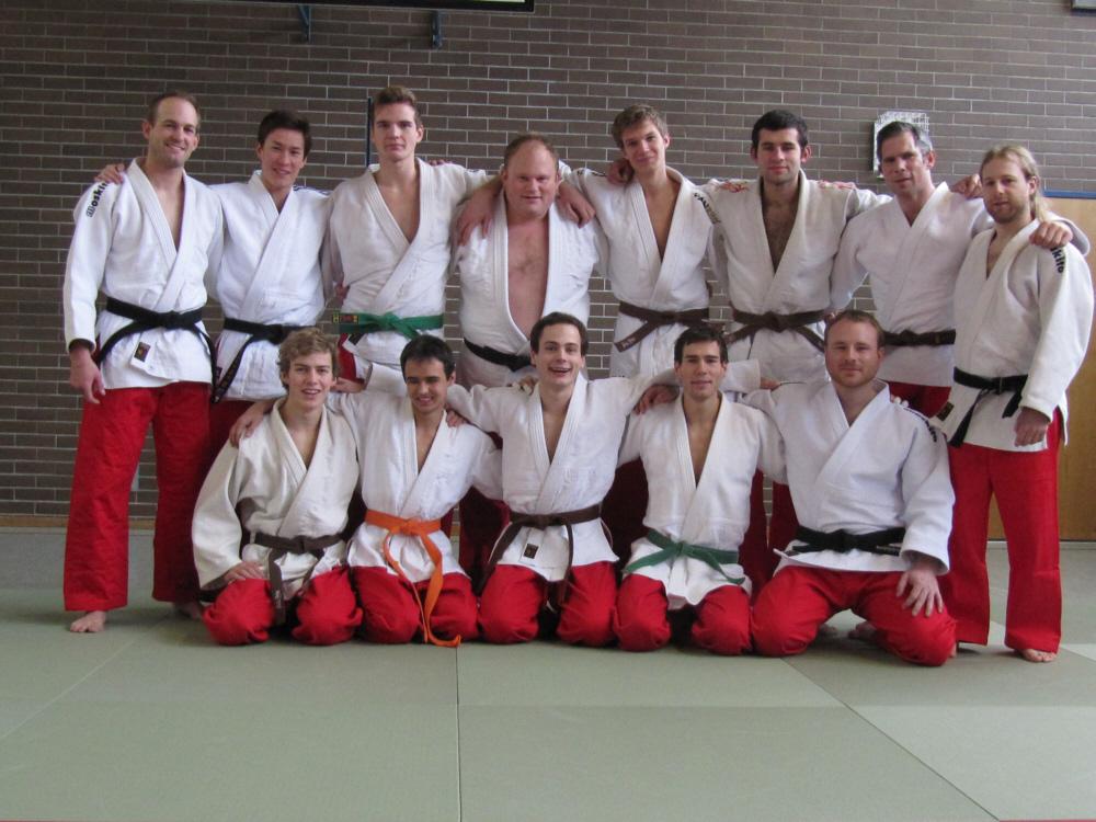 SCUG-Judo Ligamannschaft 2013
