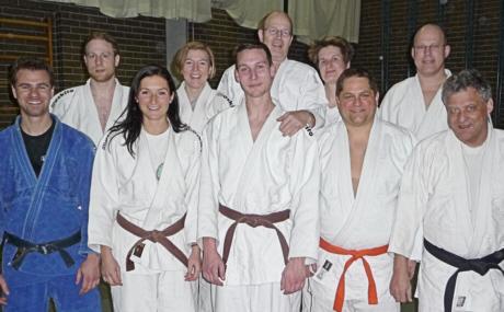 Neuer Abteilungsvorstand SCUG-Judo 2010